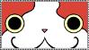Jibanyan Fan Stamp by RockingSAE-kun