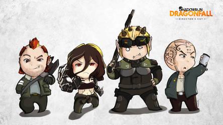 Dragonfall Crew Mini Version by GreenTigey
