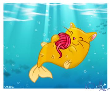 ..Undersea Yarn.. by laeriana