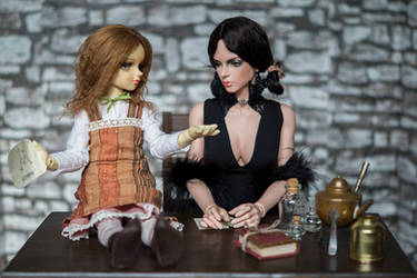 Sieglind and Clover by Nu-Da-Tee