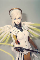 Overwatch Mercy cosplay 3 by Nu-Da-Tee