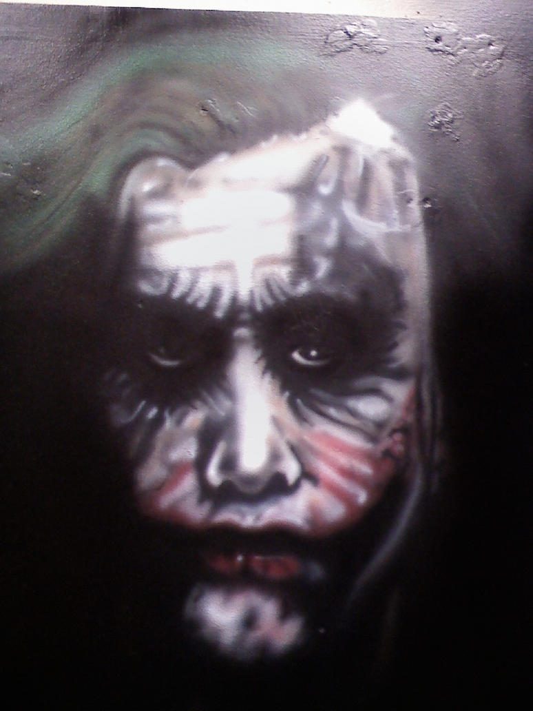 Airbrush Joker Wallpaper: Airbrush Joker 2 By Caution55 On DeviantArt