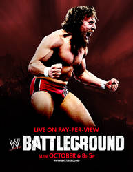 Daniel Bryan WWE Battleground poster by presidentdevon
