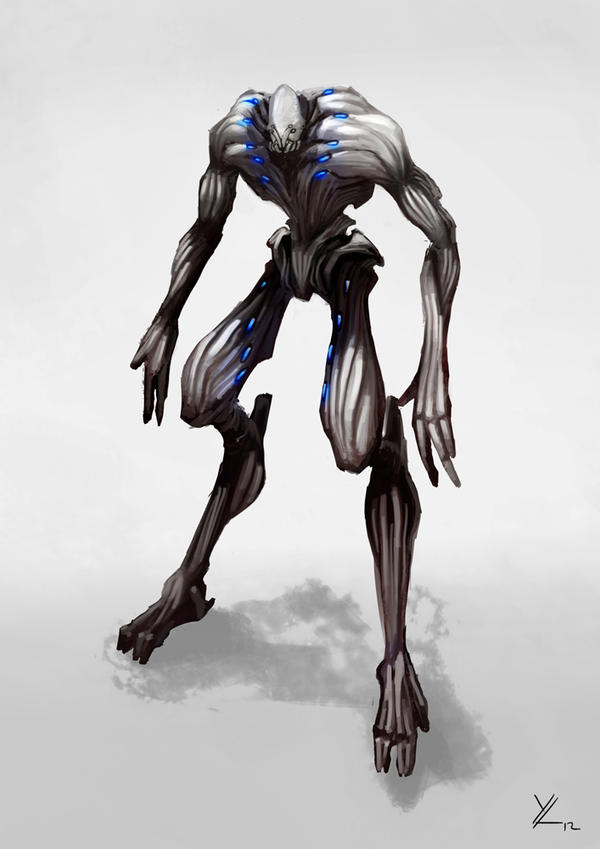 Alien Concept I by Yip-Lee