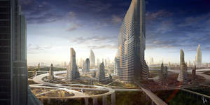 Human Supercity by Yip-Lee