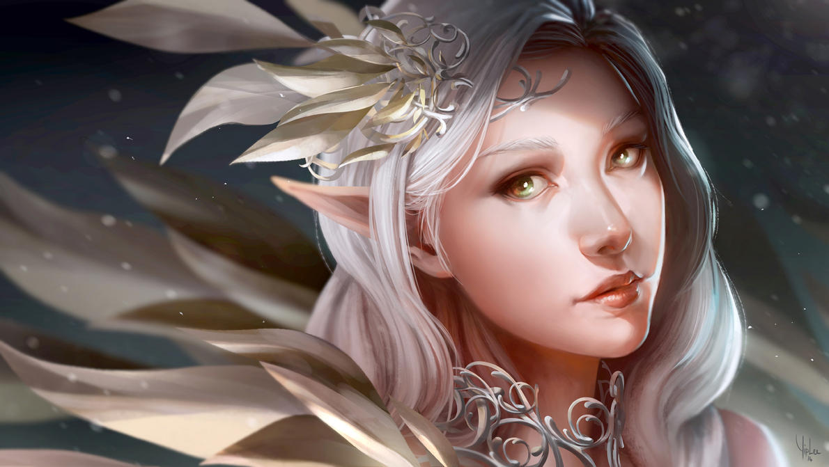 Image result for white haired elf