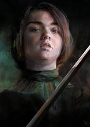 Game of Thrones - Arya Stark by Yip-Lee