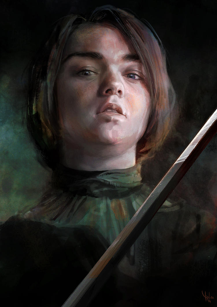 Game of Thrones - Arya Stark by Yip-Lee