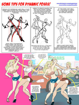 Tips for drawing dynamic poses