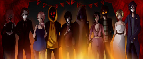 Creepyparty ( Where Did The Party Go? ) by StumphsFedora