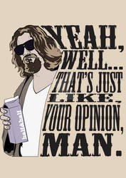 The Big Lebowski shirt design