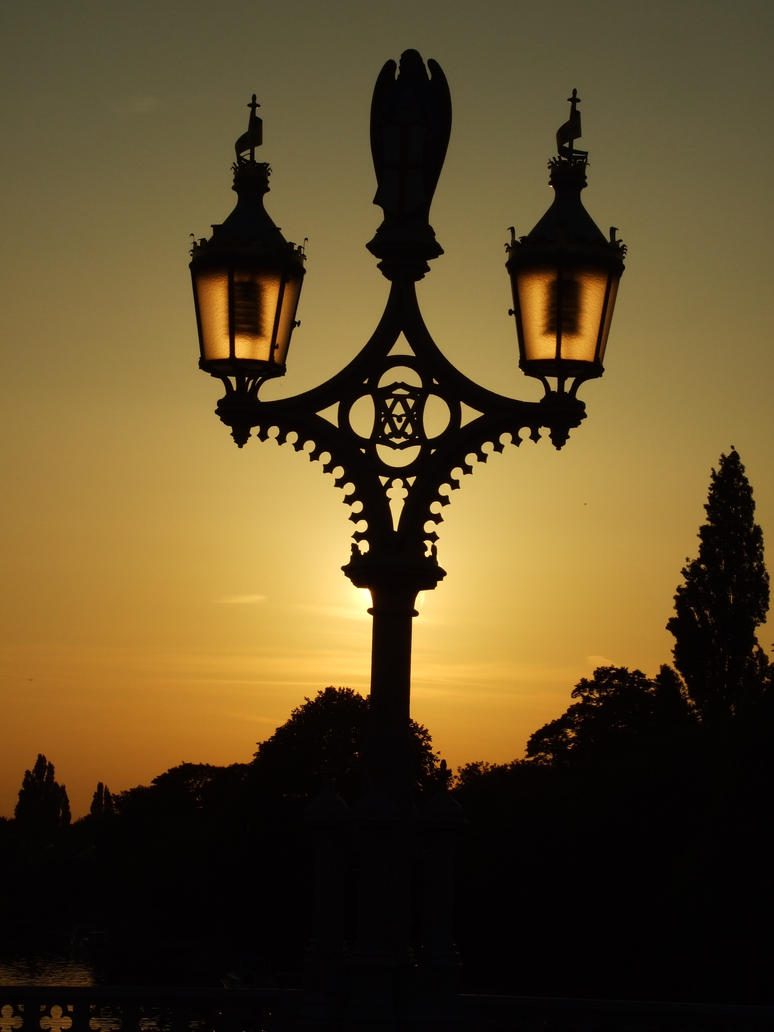 Sunset Lamp by mikepaws on DeviantArt