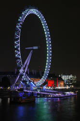 London Eye Nightlights by mikepaws