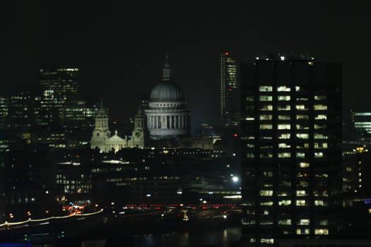Eye Above The City, Night