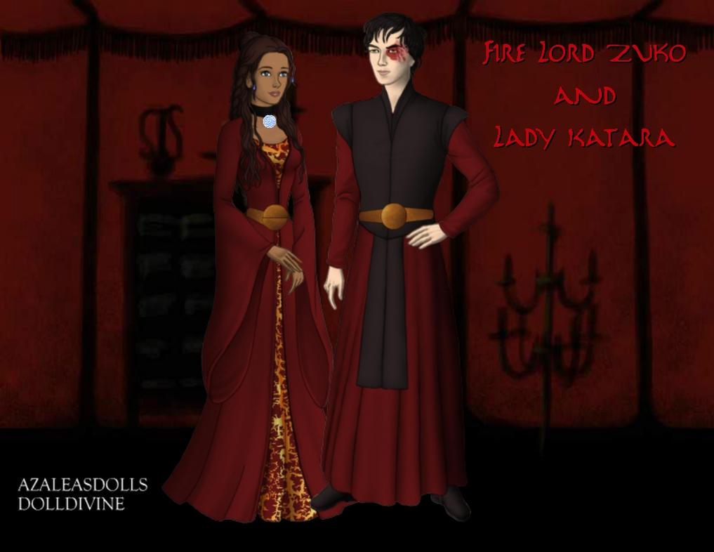 Fire Lord and Lady by KendraKickz0220 on DeviantArt