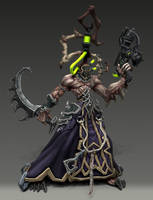Darkeldar Wrack Pose by overmind81