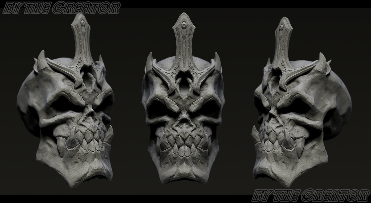 Skull by overmind81