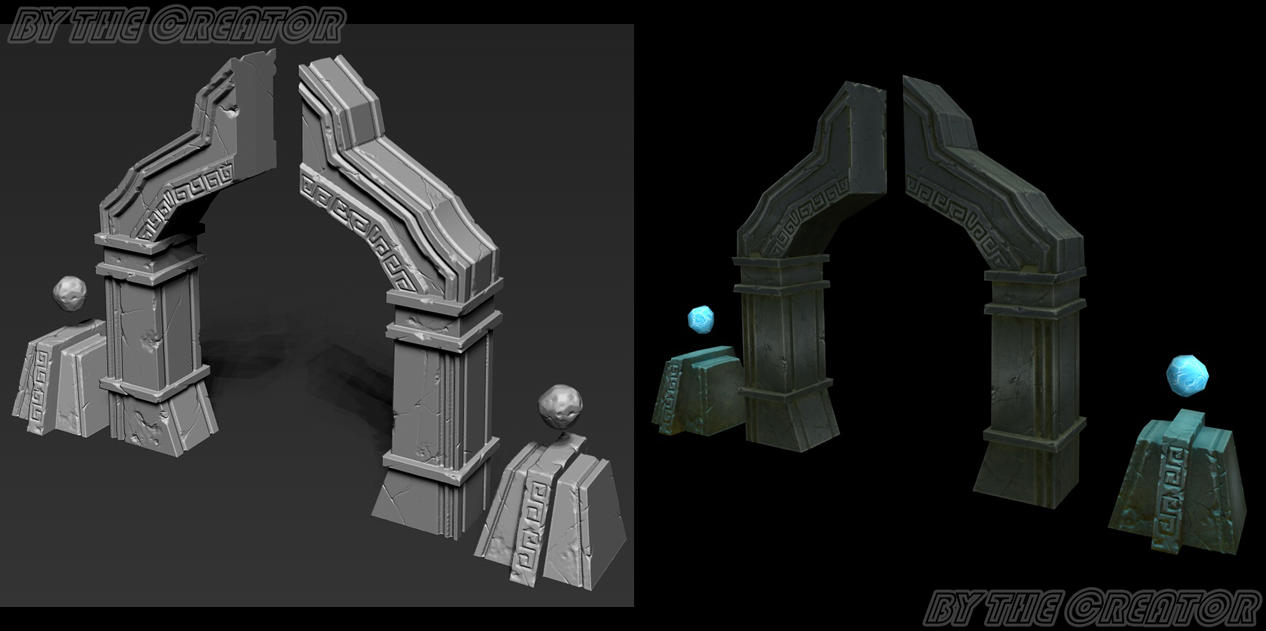 Stone Gate by overmind81