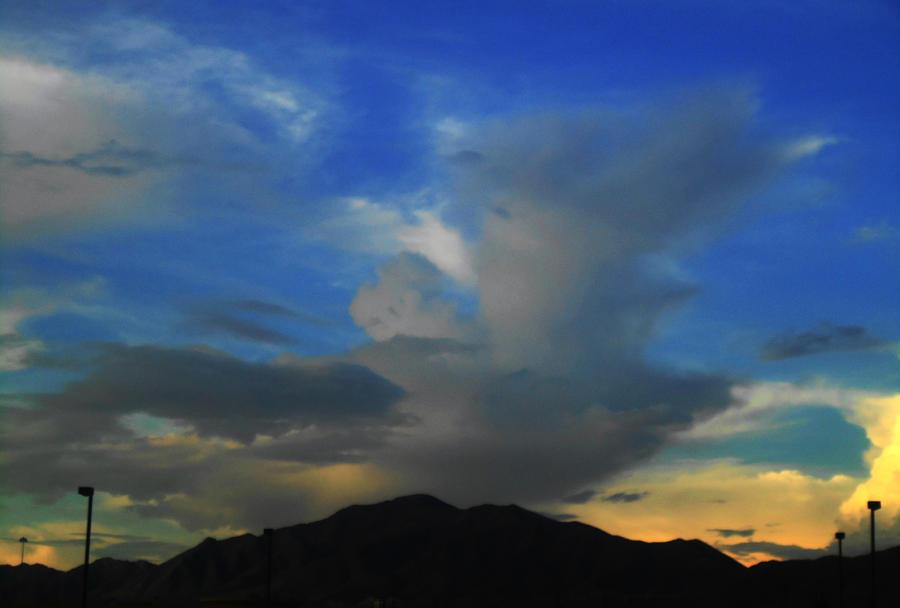 Sundown in El Paso by SharPhotography