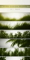 30 Hi-Res Custom Brushes - Nature