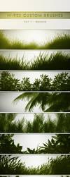 30 Hi-Res Custom Brushes - Nature by PrismaDesign