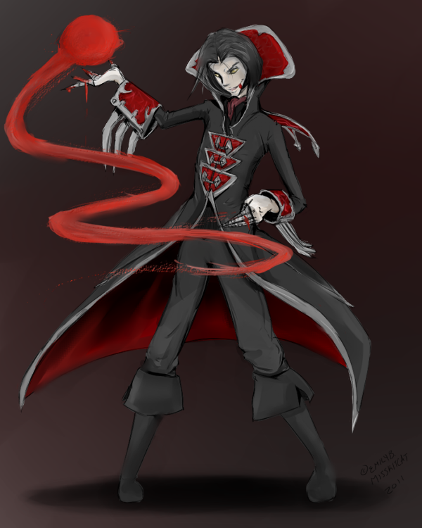 The Crimson Reaper by Zephyrenth