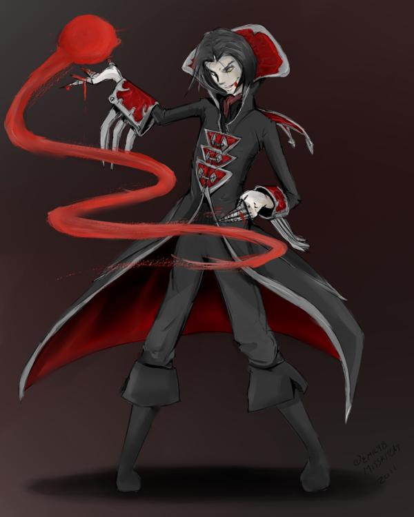 The Crimson Reaper by Zephyrenth