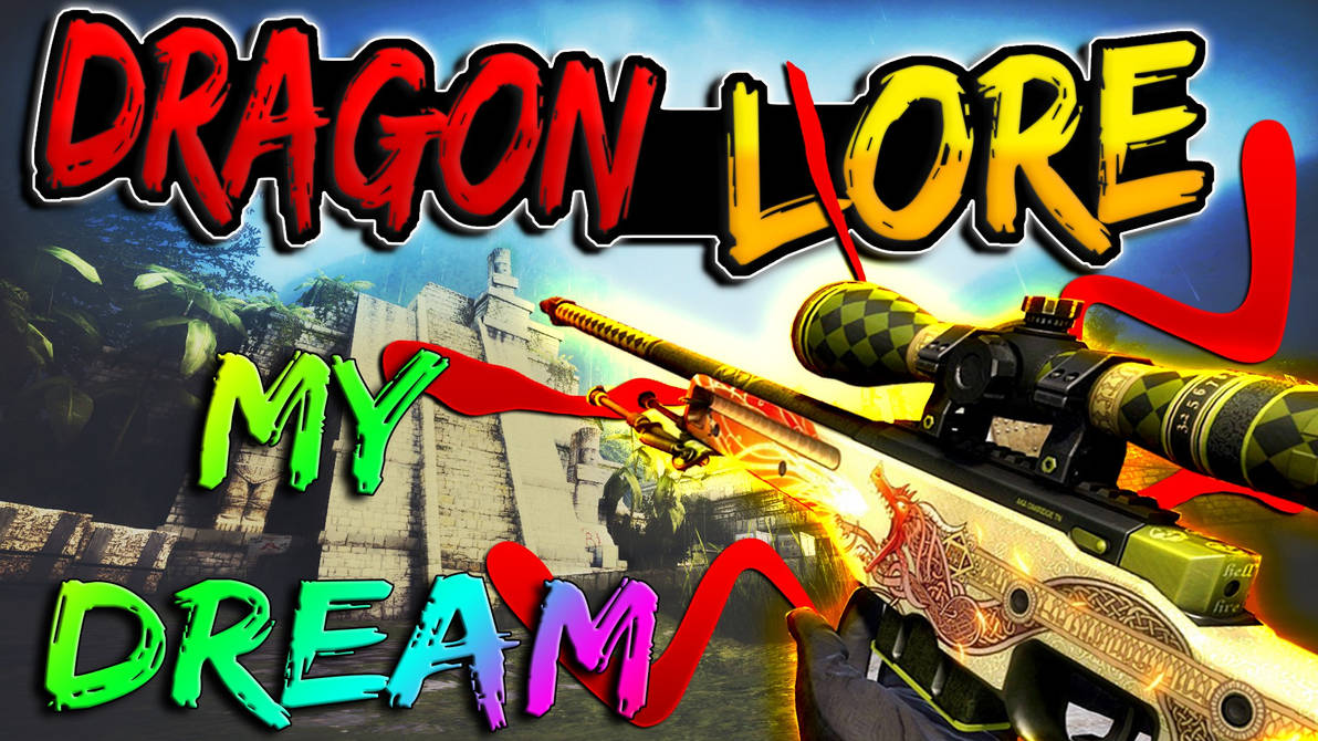 AWP Dragon Lore by Xandy-6 on DeviantArt
