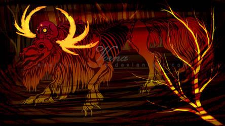 Red forest Beast by AnarkistiVorna