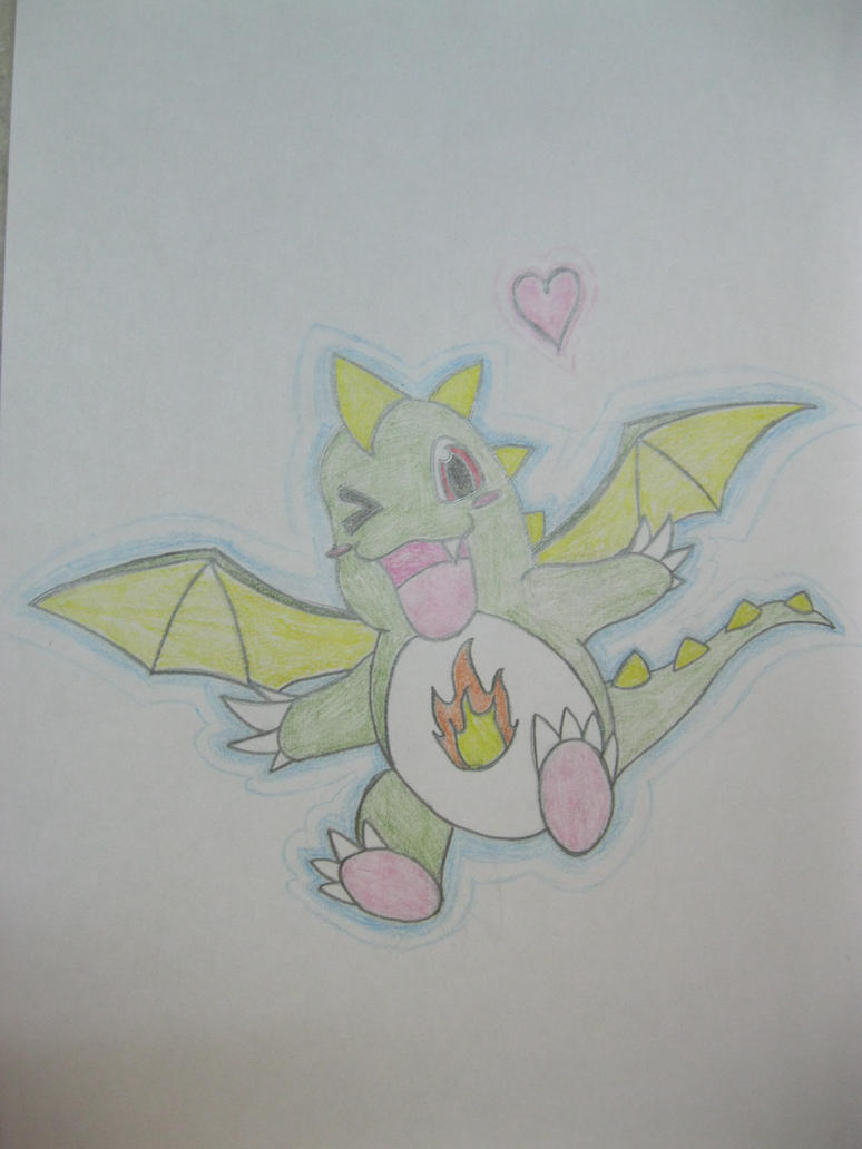 Chibi Dragon by RegiGirl1218