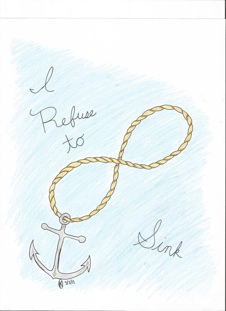I refuse to sink infinity anchor by regigirl1218 on deviantart i refuse to sink infinity anchor by regigirl1218 buycottarizona Images