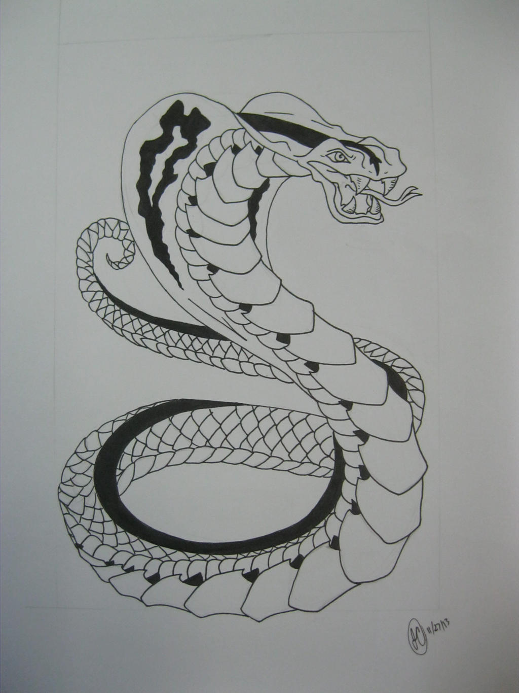 Pin on Body Modifications |Snake Tattoo Sketches
