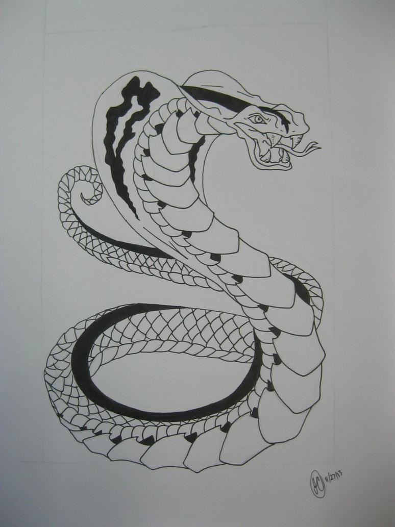 king cobra snake tattoo design by regigirl1218 on deviantart. Black Bedroom Furniture Sets. Home Design Ideas