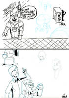sketchbomb-14Calvin-vs-Christopher by dgcordon