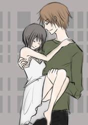 Mayuko and Ryuki 2 -M.I.R.R- by YumeMizue