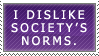 Society's Norms by DeathByDarkness