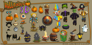 Halloween3D Concepts