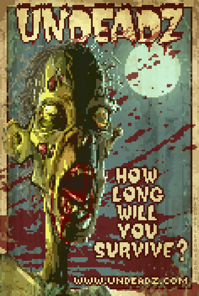 Undeadz Poster by Miggs69