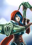Valla Demon Hunter from Diablo 3
