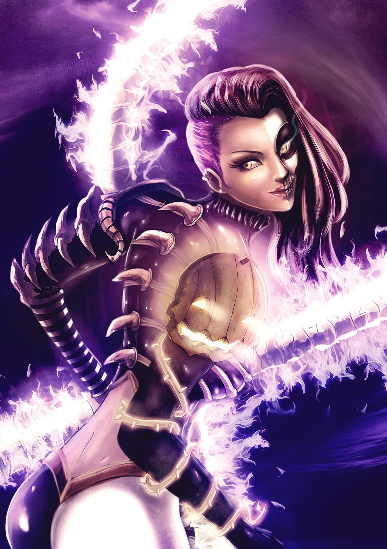 Irelia League of Legends Halloween Skin