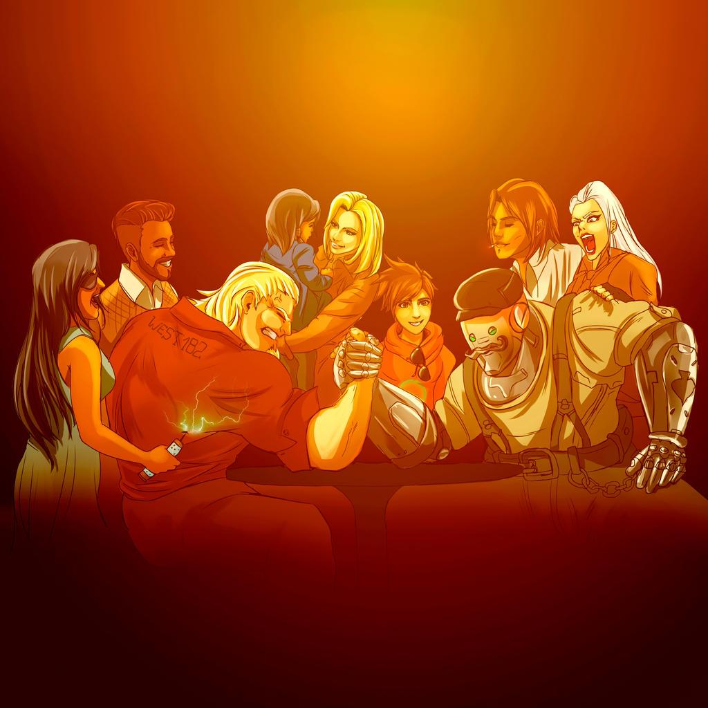 Overwatch group reunion