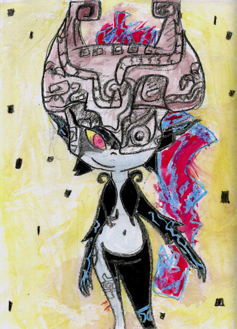 Midna by LittleRubyKitty