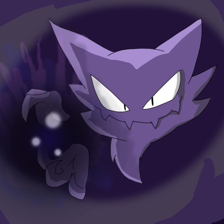 Shadow Ball by LittleRubyKitty