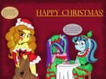 Dazzlings,HAPPY CHRISTMAS!