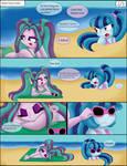 Minicomic: Beach thingy (2/3) Incomplete