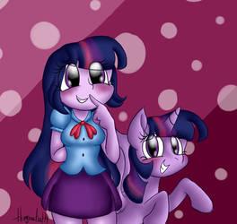 Twilight Sparkle by StrawberryCat14