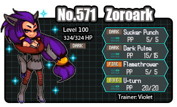 Shiny Zoroark ID by zeromaster14