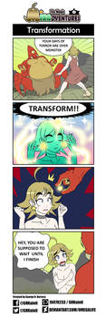 The Magic Minadventures - Transformation by omegalife