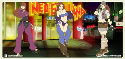Chun-Li cosplays SNK pt. 6 by omegalife