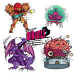 Metroid Chibis by omegalife